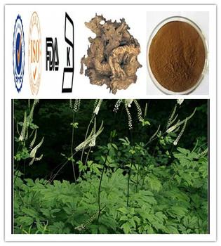 2.5%;8% Triterpene Glycosides by HPLC Black Cohosh P.E