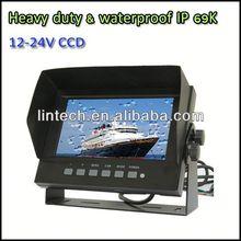 2014 best seller car display  7 inch car waterproof IP69K monitor  7 inch waterpoof car monitor for break bulk cargo carrier