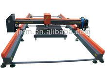 Tipo pórtico cnc corte plazma máquina de cortar de acero