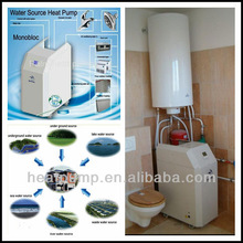 European style,high temperature,geothermal heat pump