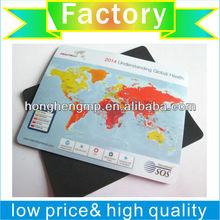 mousepad factory profational produce against slid mouse pad