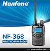 Nanfone NF-368 VOX small talkie walkie with repeater offset
