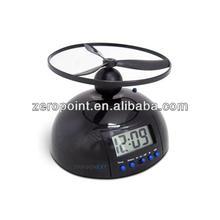 Screw-Propeller Flying Style Digital Alarm Clock