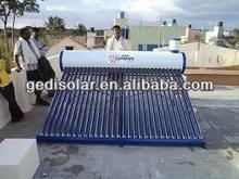Split Solar Water Heater Vacuum Tube Collector with Heat Pipe 12bar Pressure SRCC, Solar Keymark Certified SR15-58/1800