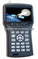 """Saída hdmi 4.3"""" hd por satélite finder meter, suporte dvb-s/s 2, mpeg 4 vide& sinal"""