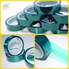 ISO9001 Shanghai 0.06/0.08mm 200C Masking Protection PET Single Side Silicone Bond Tapes