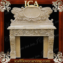 Beautiful indoor hand carved stone basin for sale