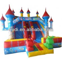 Octopus Inflatable Castle Slide For kids