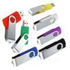 Wholesale fancy plastic 2.0 swivel usb flash drive