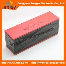 2014 best design Portable and mini bluetooth speaker with FM radio,21 inch speaker