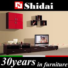 E-16 living room furniture set modern tv wall unit , wooden tv unit , high gloss tv unit