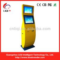Dual Screen Kiosk Enclosure Cabinet With WIFI,UPS
