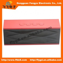 "2014 best design Portable and mini bluetooth speaker with FM radio,dual 18"" speaker box"