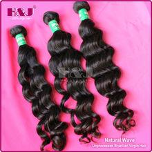 Hot vente 6A prix de gros vierge brésilienne cheveux gros