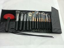 professional 18pcs pure animal hair make-up brush set