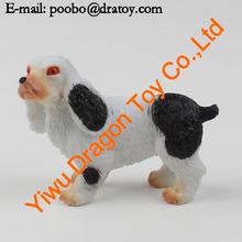 Custom farm animal toyMini dog toy/ plastic toy dog