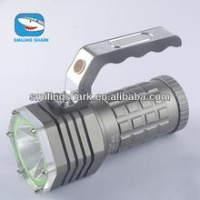 New arrival hand held spotlight rechargeable flashlight/torch/lantern