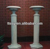 Round Marble Roman Pillars For Sale