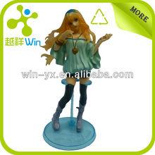 3D custom beautiful girl action figure