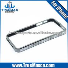 Diamond luxury bumper case for iphone 5c, Diamond for iPhone 5c bumper