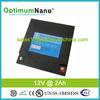 Light weight 12V 2AH lithium iron phosphate LED lighting battery pack