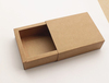 kraft box gift box slide drawer box