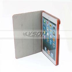 Stand smart leather factory case for ipad mini retina,for ipad mini sublimation case