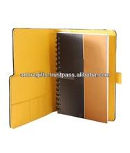 ADALP - 0066 pu organizer agenda planner with unique design/ monthly leather mini planner/ handmade leather planner agenda book