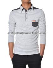 Luxury style t shirt 100% cotton export quality t shirt design for men