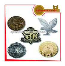Hard enamel gold bulk lapel pin
