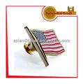 La bandera americana del envío de muestra del metal de pin de la solapa
