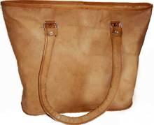 Italian Leather Handmade Tote Bag