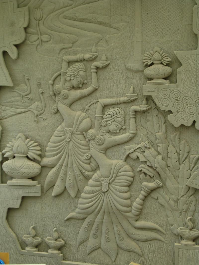 Siporex murals buy siporex murals product on for Clay mural painting