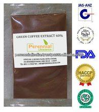 100% Natural &health Green coffee bean chlorogenic acid,Green coffee bean extract