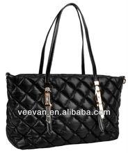 black python tall large capacity tote bags shoulderbags handbags made in china