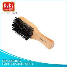B21-HB006 Wood Hair brush.Boar bristle and nylon bristle.Salon Accessories.Beauty Brush.Salon Sundries.