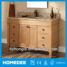 48 inch high end solid wood vanity fair bathroom furniture