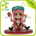 De juguete de felpa de dibujos animados chica, la figura de dibujos animados juguetes, juguetes calientes de la figura