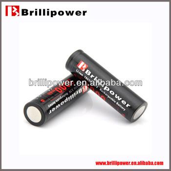 Brillipower competitve price high power storage solar battery 18650 rechargeable cylinder storage solar battery