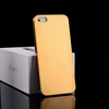 ultra thin 0.3mm brushed titanium metal hard back cover for iphone 5 case