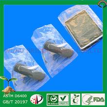 Biodegradable plastic, plastic shipping bags