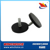 Rubber Coated Magnet with thread rod, strong pulling force