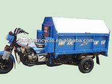 New tuk tuk 3 wheel motorcycle/garbage tricycle