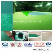portable indoor tennis court flooring sports pvc flooring