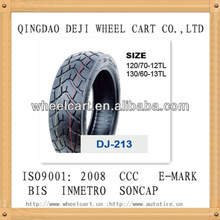 Scooter tyre tubeless tire 130/60-13 6pr/8pr