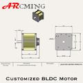 سعر جيد التصميم bldc المحرك للسيارة الكهربائية
