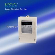 Prepaid energy meter three phase electric meter