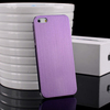 Ultra thin 0.5mm brushed metal back case for iphone 5 5s