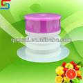 Rígida plana roscado con tubo de salida para la esterilización química( babero)