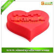 Heart Shaped Silicone Birthday Cake Mold
